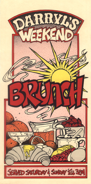 Weekend Brunch Menu Front