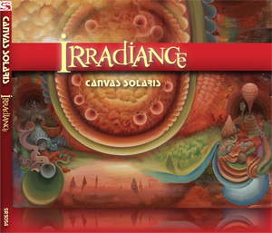 Irradiance cover with spine