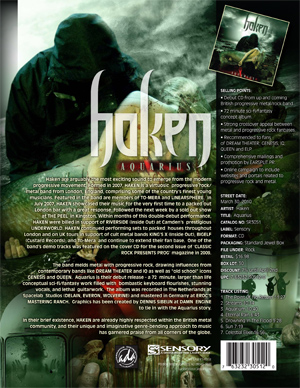 Haken One Sheet