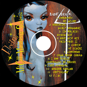 Controlled By Radar Disc One Label
