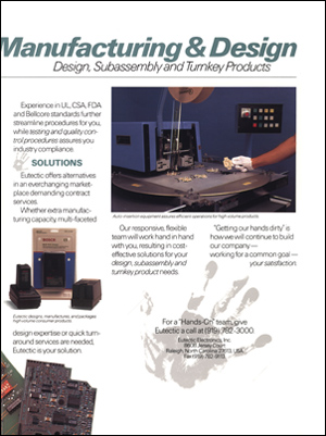 Eutectic Contract Manufacturing Brochure Inside Detail